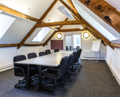 West Wing Meeting or Conferencing room at Middle Aston House
