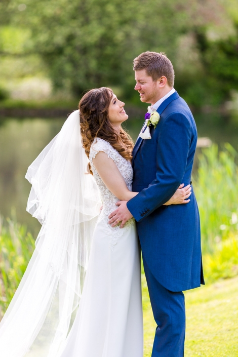 The Happy Couple at Middle Aston House in Oxfordshire
