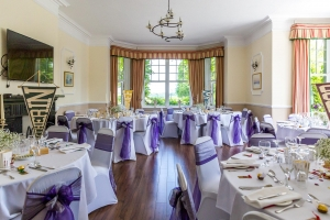 Harry Potter Themed Wedding Breakfast at Middle Aston House