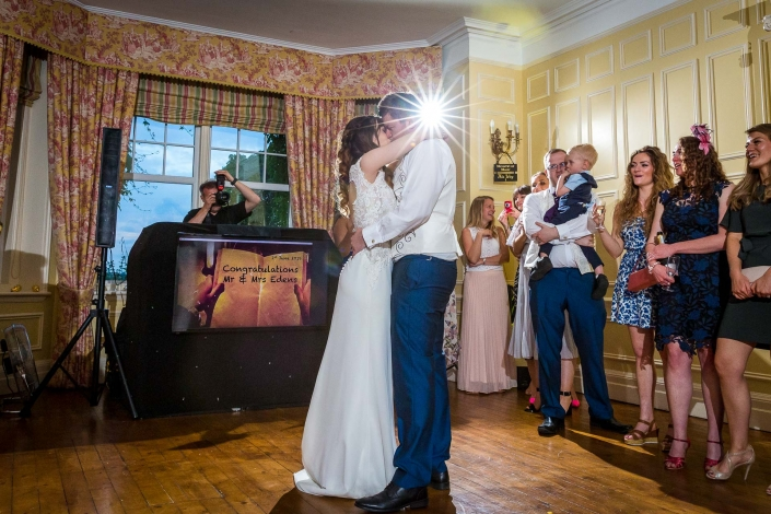 First Dance in the Reception Room at Middle Aston House Oxfordshire
