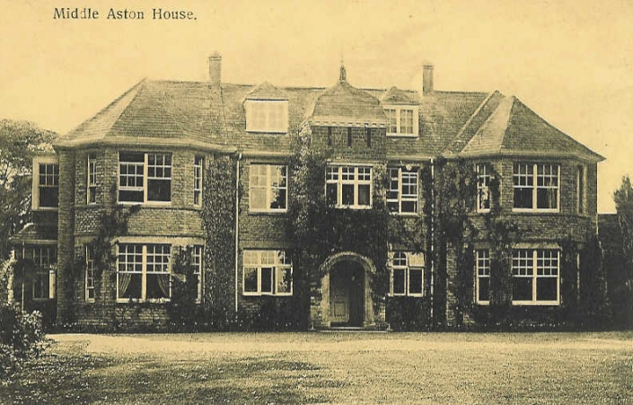 Historic Photograph of Middle Aston House Oxfordshire