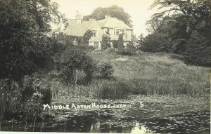Historic Photo of Middle Aston House Oxfordshire