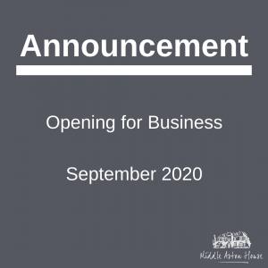 MAH Opening 01/09/2020